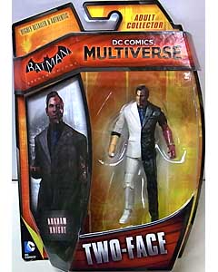 MATTEL DC COMICS MULTIVERSE 4インチアクションフィギュア BATMAN: ARKHAM KNIGHT TWO-FACE