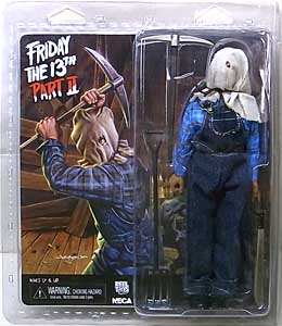 NECA FRIDAY THE 13TH PART II 8インチドール JASON VOORHEES