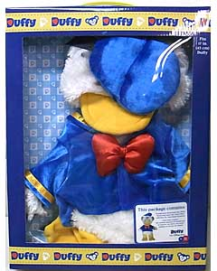 DISNEY USAディズニーテーマパーク限定 DUFFY THE DISNEY BEAR COSTUME DONALD DUCK BOX SET