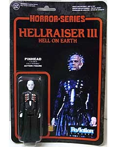 FUNKO x SUPER 7 REACTION FIGURES 3.75インチアクションフィギュア HELLRAISER III HELL ON EARTH PINHEAD