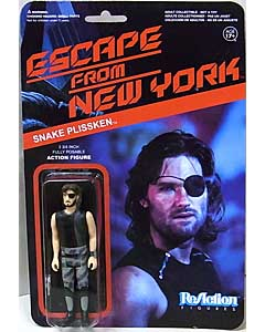 FUNKO x SUPER 7 REACTION FIGURES 3.75インチアクションフィギュア ESCAPE FROM NEW YORK SNAKE PLISSKEN [TANK TOP]