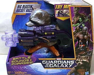 HASBRO 映画版 GUARDIANS OF THE GALAXY BIG BLASTIN' ROCKET RACCOON