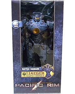 NECA PACIFIC RIM 18インチアクションフィギュア JAEGER [GIPSY DANGER BATTLE DAMAGED WITH LIGHT UP PLASMA CANNON ARM]