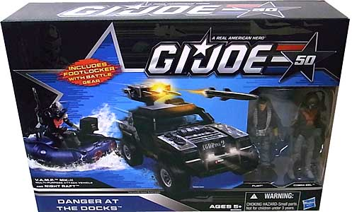 HASBRO G.I.JOE 50TH ANNIVERSARY ビークル DANGER AT THE DOCKS