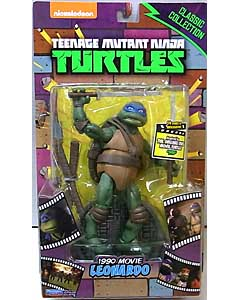PLAYMATES TEENAGE MUTANT NINJA TURTLES CLASSIC COLLECTION 6インチアクションフィギュア 1990 MOVIE LEONARDO