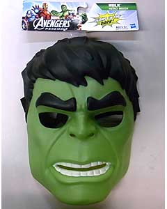 HASBRO AVENGERS ASSEMBLE HULK HERO MASK [GLOWS IN THE DARK]