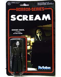 FUNKO x SUPER 7 REACTION FIGURES 3.75インチアクションフィギュア SCREAM GHOST FACE