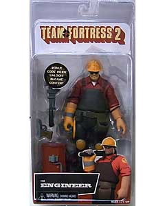 NECA PLAYER SELECT TEAM FORTRESS 2 DX 7インチアクションフィギュア THE ENGINEER