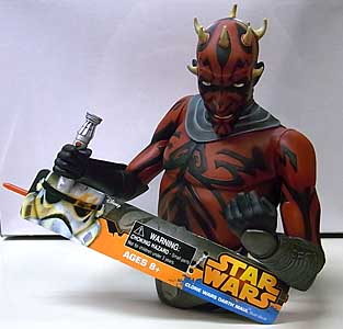 DIAMOND SELECT STAR WARS DARTH MAUL ソフビバンク