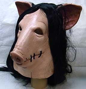 TRICK OR TREAT STUDIOS ラバーマスク SAW PIG