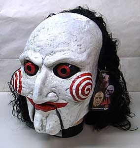 TRICK OR TREAT STUDIOS ラバーマスク SAW BILLY PUPPET