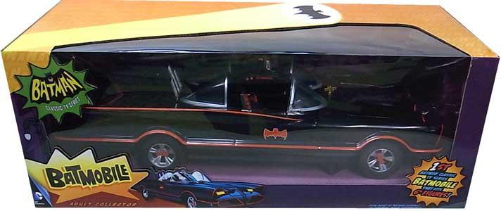 MATTEL BATMAN CLASSIC TV SERIES 6インチフィギュアサイズ(1/12スケール) BATMOBILE