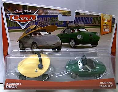 MATTEL CARS 2014 2PACK KIMBERLY RIMS & CARINNE CAVVY ブリスター傷み特価
