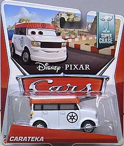 MATTEL CARS 2014 シングル SUPER CHASE CARATEKA 台紙傷み特価