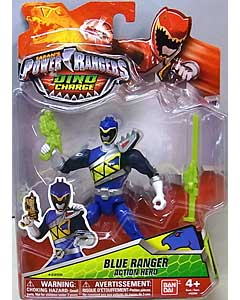 USA BANDAI POWER RANGERS DINO CHARGE 5インチアクションフィギュア BLUE RANGER