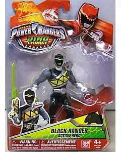 USA BANDAI POWER RANGERS DINO CHARGE 5インチアクションフィギュア BLACK RANGER