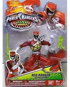USA BANDAI POWER RANGERS DINO CHARGE 5インチアクションフィギュア RED RANGER