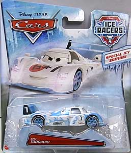 MATTEL CARS 2015 ICE RACERS シングル SHU TODOROKI