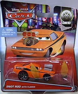 MATTEL CARS 2015 シングル SNOT ROD WITH FLAMES