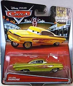 MATTEL CARS 2015 シングル YELLOW RAMONE