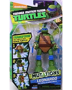 PLAYMATES NICKELODEON TEENAGE MUTANT NINJA TURTLES MUTATIONS LEONARDO