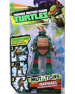 PLAYMATES NICKELODEON TEENAGE MUTANT NINJA TURTLES MUTATIONS RAPHAEL