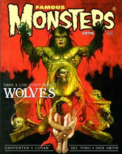 FAMOUS MONSTERS OF FILMLAND #276 [WOLVES COVER]