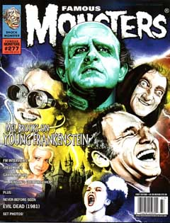 FAMOUS MONSTERS OF FILMLAND #277 [YOUNG FRANKENSTEIN COVER]
