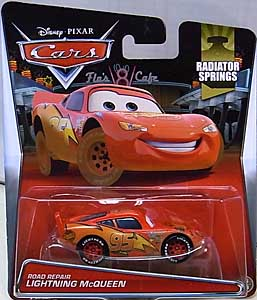 MATTEL CARS 2015 シングル ROAD REPAIR LIGHTNING McQUEEN 台紙傷み特価