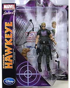 DIAMOND SELECT MARVEL SELECT USAディズニーストア限定 AVENGING HAWKEYE