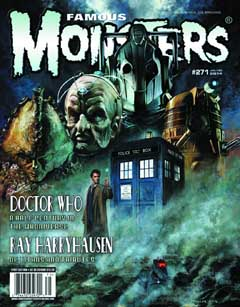 FAMOUS MONSTERS OF FILMLAND #271 [DOCTOR WHO COVER] 裏表紙折れ特価