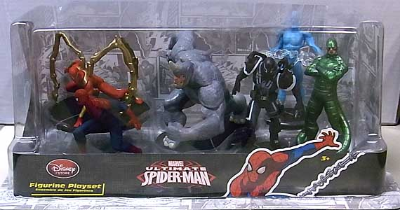 USA DISNEY STORE 限定 FIGURINE PLAYSET ULTIMATE SPIDER-MAN