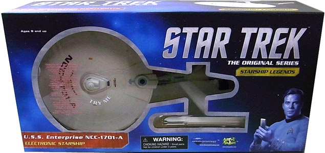 DIAMOND SELECT STAR TREK THE ORIGINAL SERIES STARSHIP LEGENDS U.S.S. ENTERPRISE NCC-1701-A