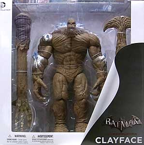 DC COLLECTIBLES BATMAN: ARKHAM CITY DX CLAYFACE パッケージ傷み特価