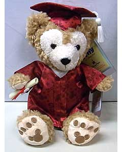 DISNEY USAディズニーテーマパーク限定 DUFFY THE DISNEY BEAR 12INCH 2015 GRADUATION DUFFY THE DISNEY BEAR