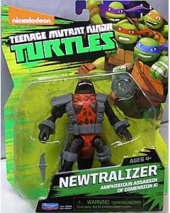 PLAYMATES NICKELODEON TEENAGE MUTANT NINJA TURTLES ベーシックフィギュア 2015 NEWTRALIZER 台紙傷み特価