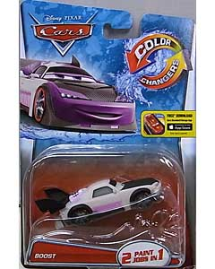 MATTEL CARS 2015 COLOR CHANGERS シングル BOOST 台紙傷み特価