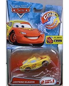 MATTEL CARS 2015 COLOR CHANGERS シングル LIGHTNING McQUEEN [RED-YELLOW]