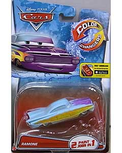 MATTEL CARS 2015 COLOR CHANGERS シングル RAMONE 台紙傷み特価