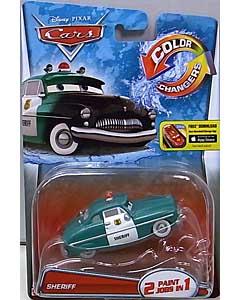MATTEL CARS 2015 COLOR CHANGERS シングル SHERIFF