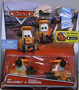 MATTEL CARS 2015 シングル NAT McLUGNUT & MICHAEL HONKSEL