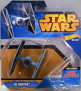 MATTEL HOT WHEELS STAR WARS DIE-CAST VEHICLE TIE FIGHTER