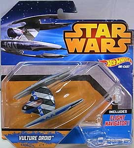MATTEL HOT WHEELS STAR WARS DIE-CAST VEHICLE VULTURE DROID