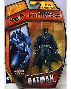 MATTEL DC COMICS MULTIVERSE 4インチアクションフィギュア BATMAN: ARKHAM KNIGHT BATMAN [DETECTIVE MODE]