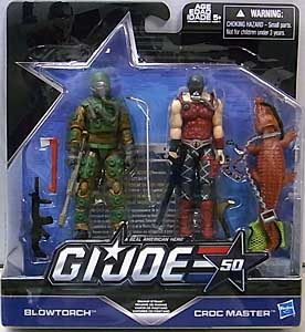 HASBRO G.I.JOE 50TH ANNIVERSARY 2PACK SWAMP STEAM