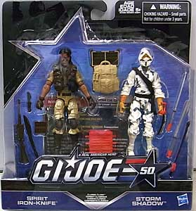 HASBRO G.I.JOE 50TH ANNIVERSARY 2PACK CLASSIC CLASH