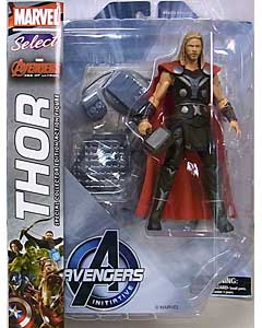 DIAMOND SELECT MARVEL SELECT 映画版 AVENGERS: AGE OF ULTRON THOR パッケージ傷み特価