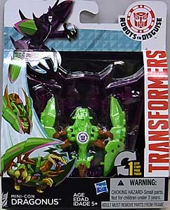 HASBRO アニメ版 TRANSFORMERS ROBOTS IN DISGUISE MINI-CON DRAGONUS