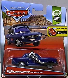 MATTEL CARS 2015 シングル BRENT MUSTANGBURGER WITH HEADSET