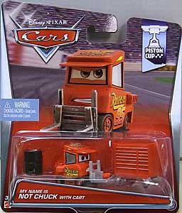MATTEL CARS 2015 シングル MY NAME IS NOT CHUCK WITH CART ブリスターワレ特価